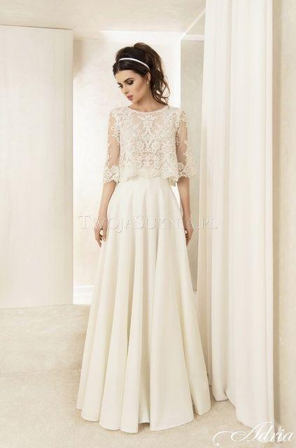 Suknia Slubna Adria 1619 2016 Twojasuknia Pl Wedding Dresses Bridal Dresses Magical Dress