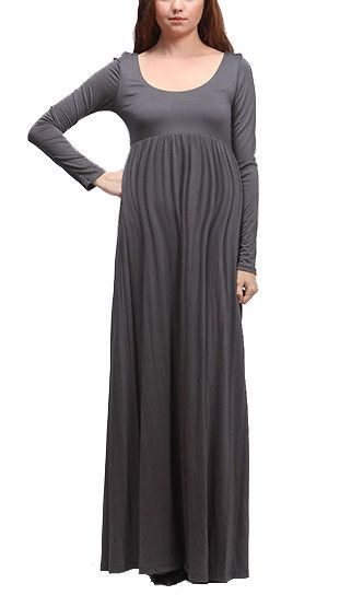 beaucute.com long sleeve maternity dress (02) #maternitydresses ...