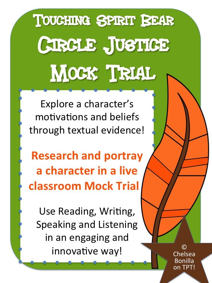 what is circle justice in touching spirit bear