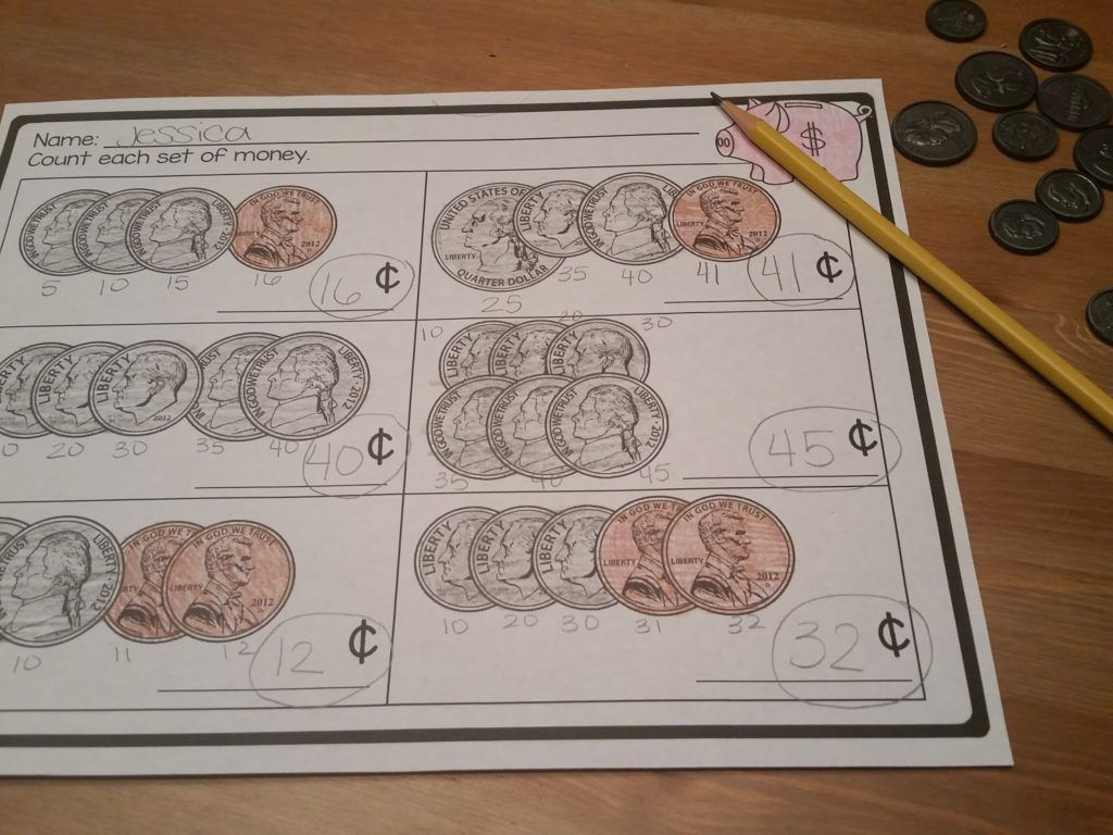 Money Activities For The Primary Classroom Money Centers