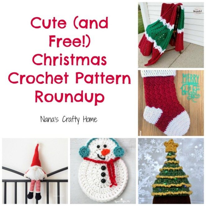Cute (and Free!) Christmas Crochet Pattern Roundup | Crochet ...