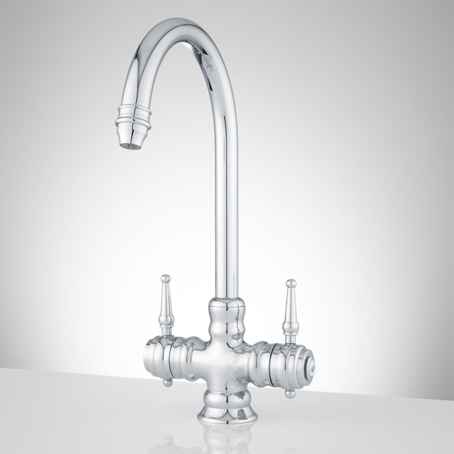 Delia Single-Hole Bathroom Faucet with Pop-Up Drain | Products