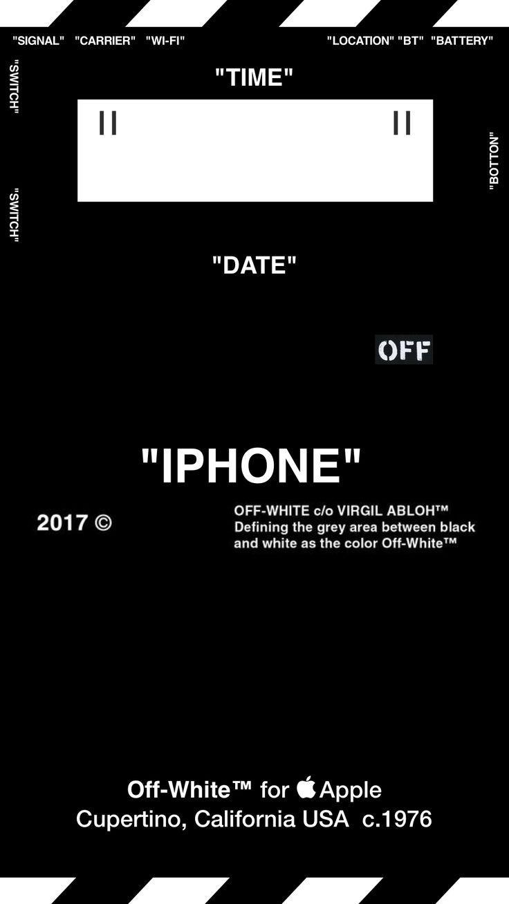Off White Offwhite Wallpaper Iphone Å£ç´™ Type B Funny Iphone Wallpaper Hypebeast Iphone Wallpaper Live Wallpaper Iphone