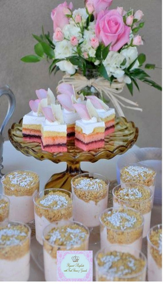 ROYAL TEA PARTY Food Labels Girls Woman By KROWNKREATIONS 399