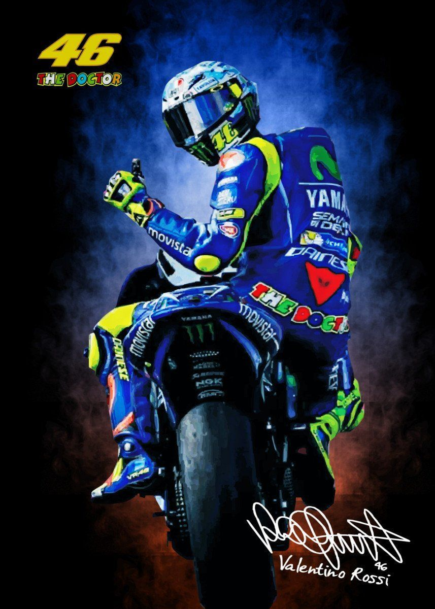 Moto Gp Wallpapers Valentino Rossi In 2020 Vr46 Valentino Rossi Valentino Rossi Motogp Valentino Rossi