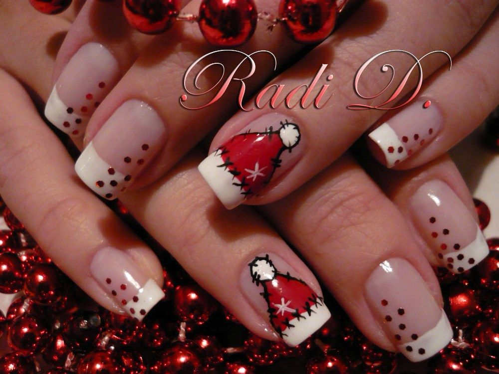 Merry Christmas! - Nail Art Gallery Archive - nailsmag.com