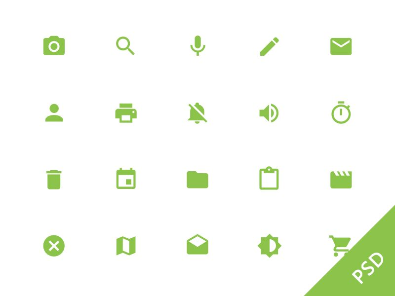 Android L System Icons Material Design Google Material Design