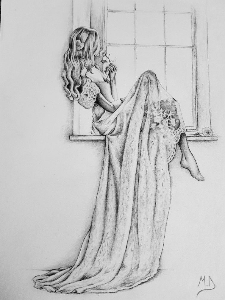 Bride Drawing With Images Disney Art Drawings Cool Art Drawings