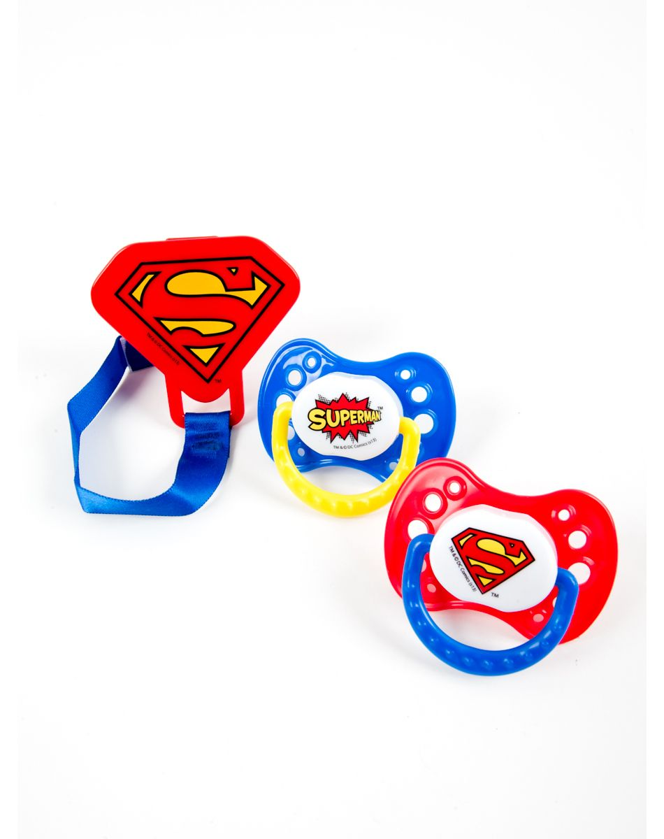 Superman Pacifier 2 Pack