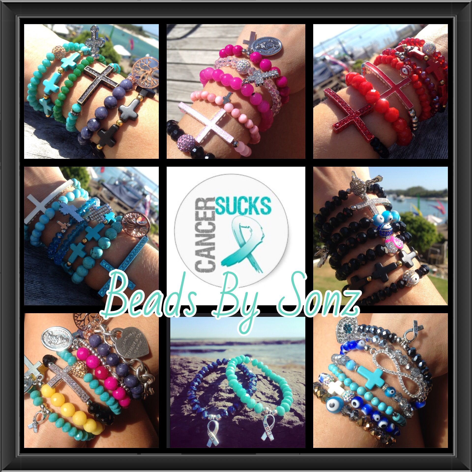 Please follow my collection on Pinterest and Instagram, like Facebook page beads by Sonz