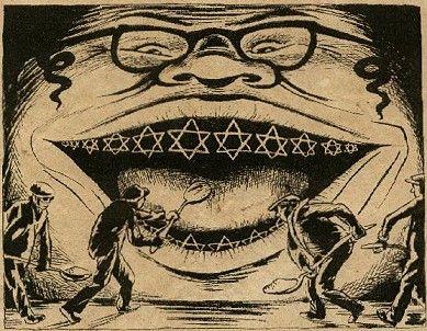 nazi leaflet 1938 | Anti-Semitic propaganda | Pinterest | The o ...