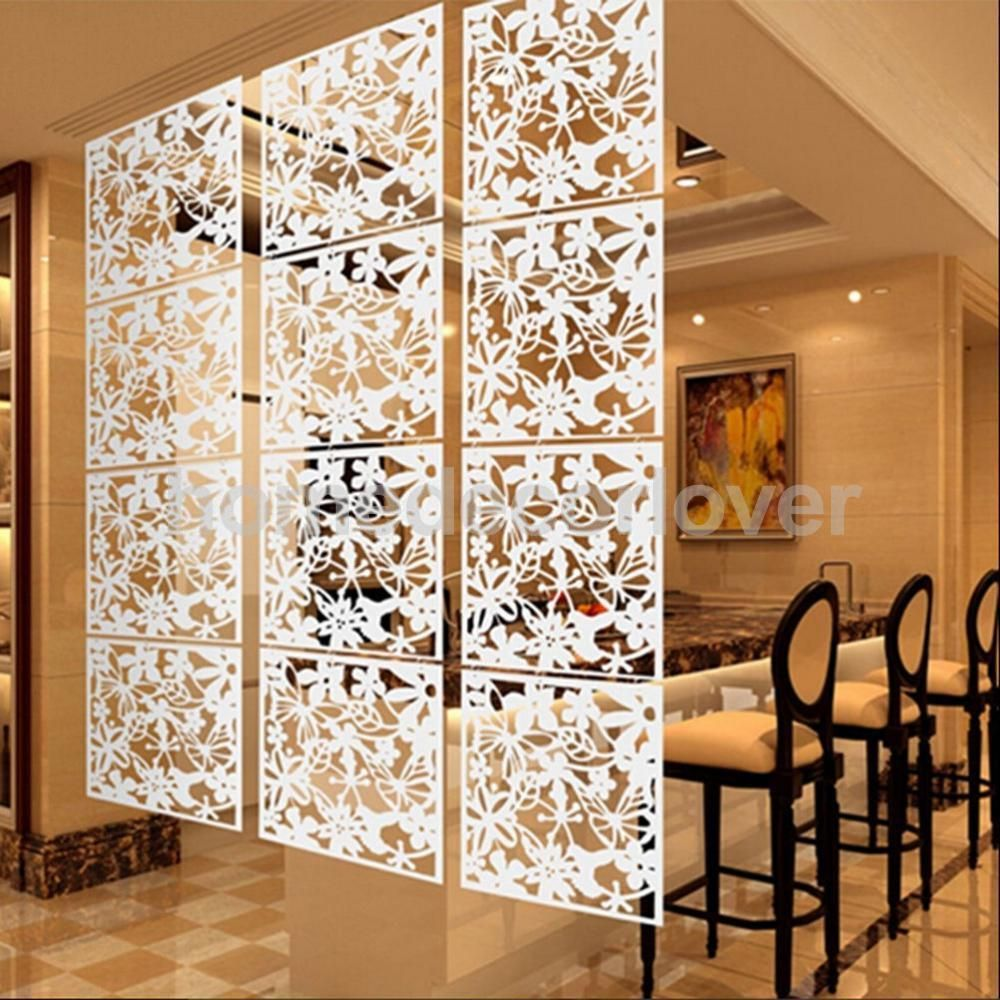Bird Flower Hanging Screen Partition Divider Home Room Wall White In Home,  Furniture U0026 DIY, Home Decor, Screens U0026 Room Dividers