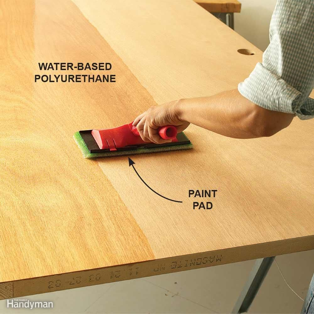 Wood Finishing Tips Paint Pads Staining Wood Wood Finish