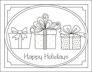 Kids Printable Activities Christmas Coloring Pages Puzzles Christmas Present Coloring Pages Christmas Coloring Pages Christmas Gift Coloring Pages