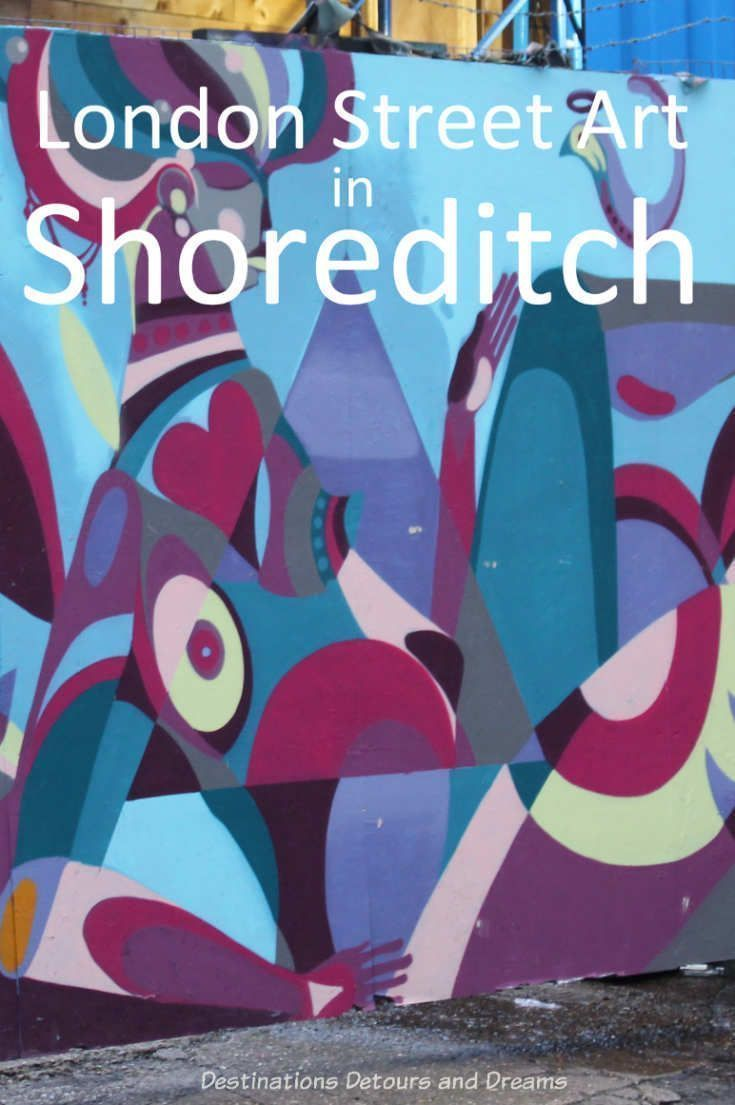 London Map Shoreditch Area: London Street Art In Shoreditch