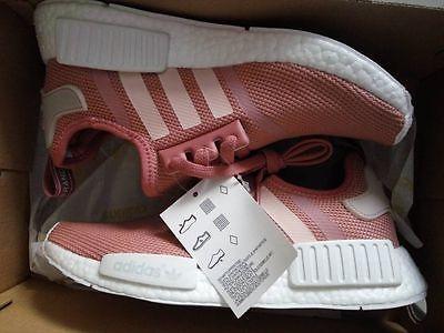 fd7240f5502f ADIDAS NMD R1 PINK RAW S76006 Raw Pink Rose Salmon Peach women shoes sales.