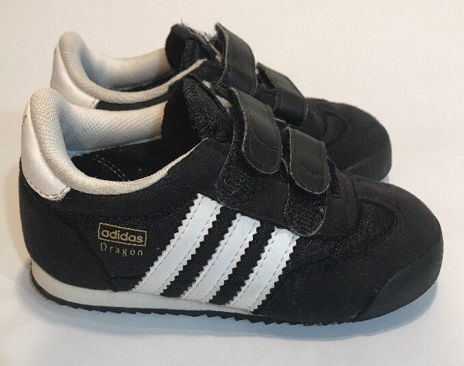 3c21fdba8015 adidas Dragon OG CF Athletic Shoes Toddler Little Kid Size 6 K Black White