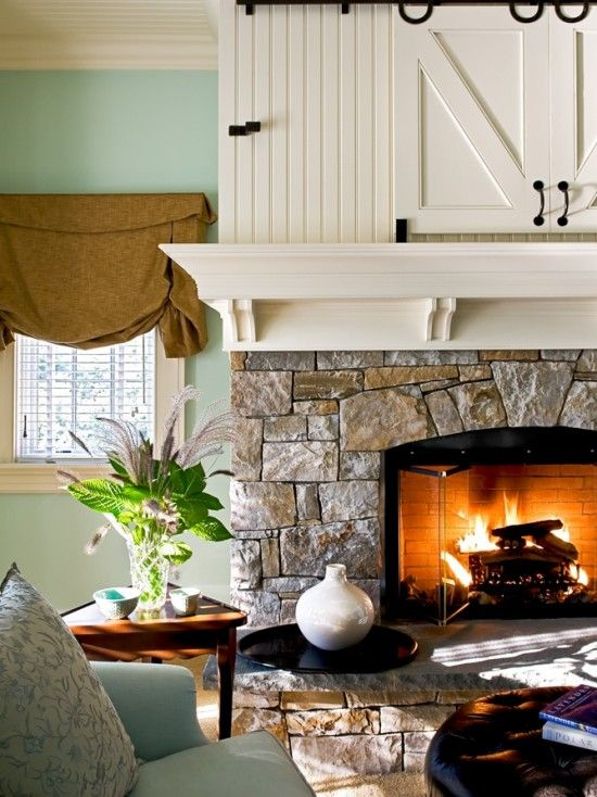 Wall Color With Drapery Color Stone Fireplace Breadboard Wall Color Benjamin Moore Quot At Sea