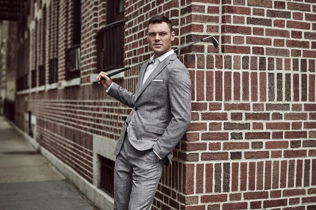 3076c8e66 From hugoboss - A swinging start to the day  Martin Kaymer wears BOSS in  New York  thisisboss  bosssports