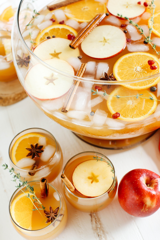 Harvest Apple Cider Punch - Eat Yourself Skinny