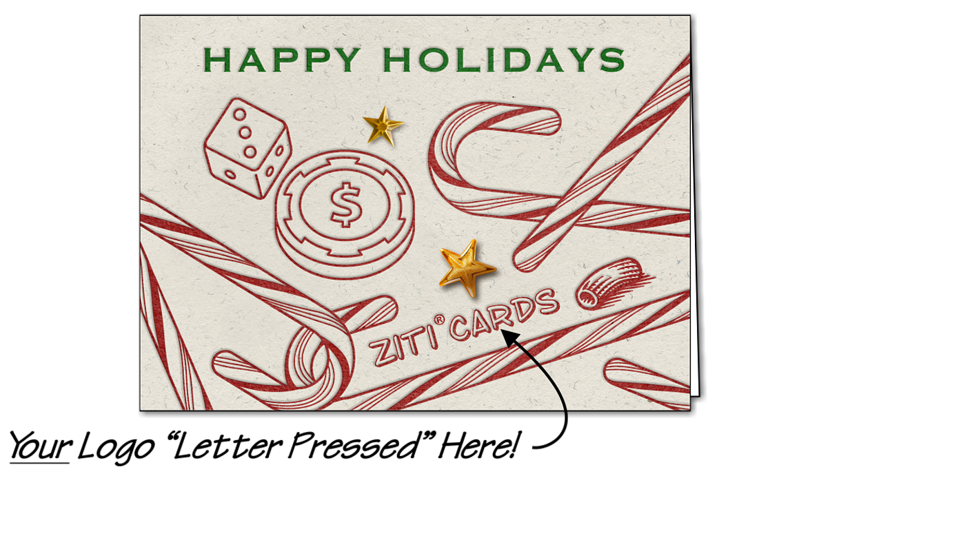 Casino Logo Candy Canes Glossy White The Holiday Season Is An Opportunity To Connect With Clients And Strengthen Professional Relationships And Our Candy Logo