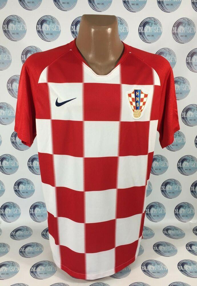 CROATIA NATIONAL TEAM 2018 2019 HOME FOOTBALL SOCCER SHIRT