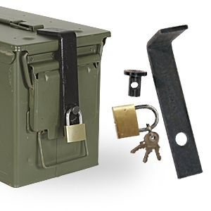 Ammo Can Lock System Fits 50cal 30cal 5 56 60mm 40mm 20mm Ammo Box Ammo Box Ammo Cans Ammo Storage