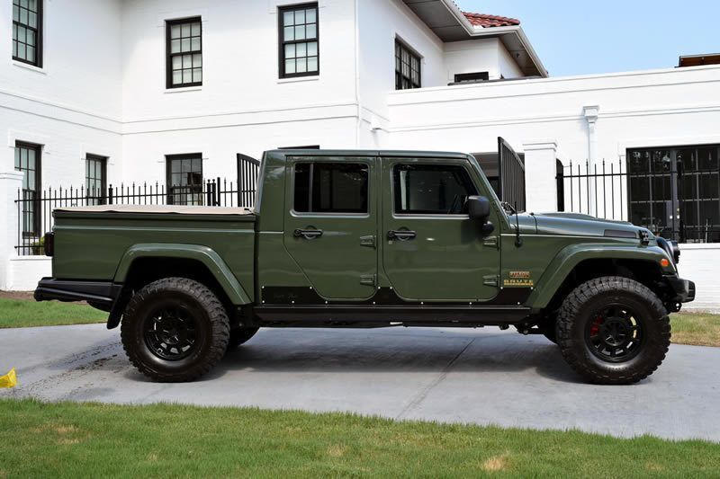 Don T Want To Wait For The Official Jeep Wrangler Pickup Well