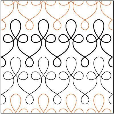 filagree pantograph | Filigree pantograph pattern by Patricia Ritter of Urban Elementz