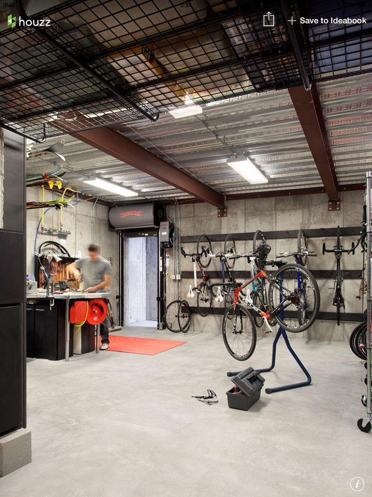 Bike Shop And Storage Bike Room Garage Bike Garage Design