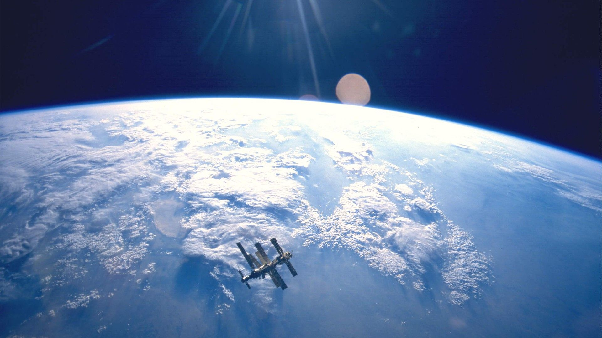 Обои земля, челнок, шатл. Космос foto 17