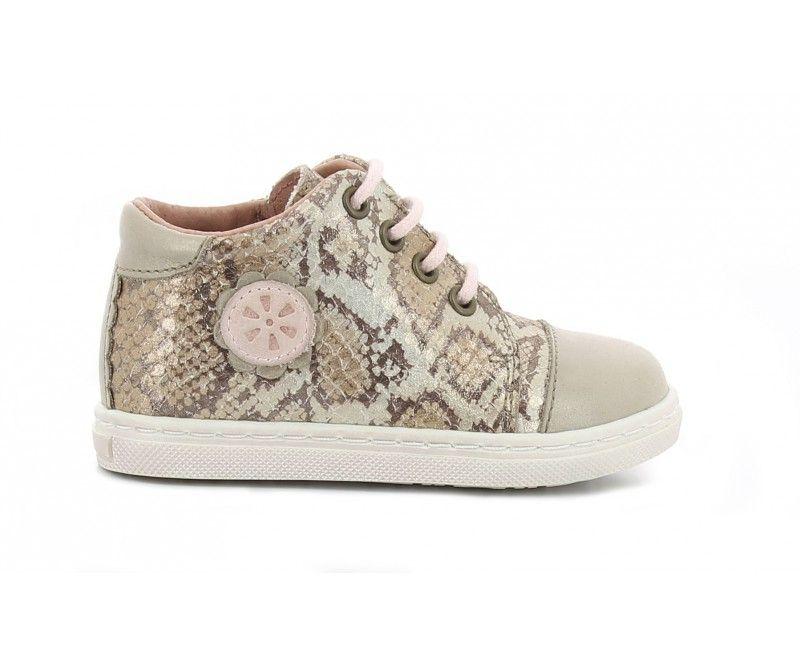 ASTER Sneakers Haut Risette Beige kG3pmrk4G