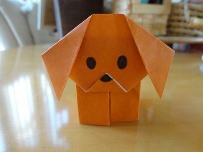 ハート 折り紙 折り紙 犬 簡単 : pinterest.com