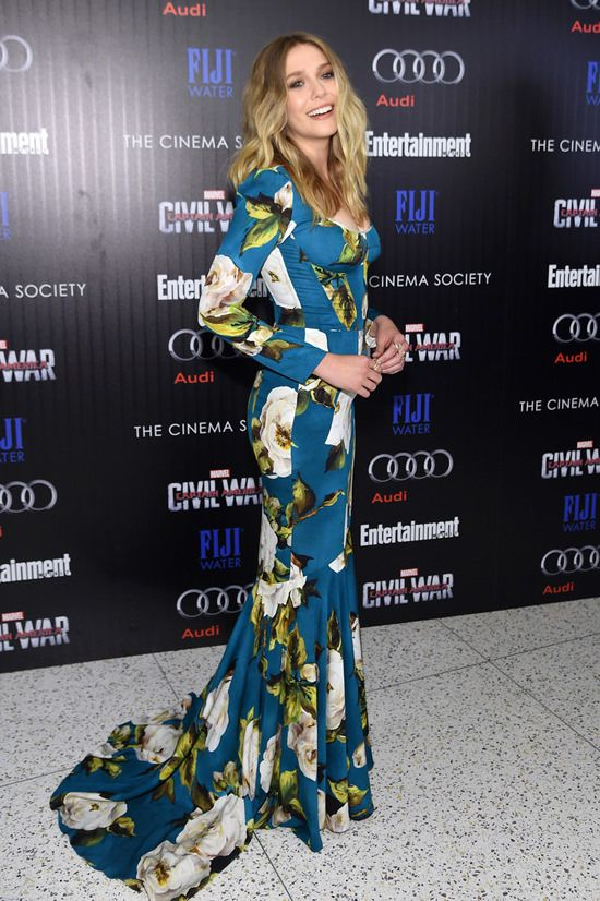 Elizabeth Olsen Appreciates That Marvel Will Never Tell You To Get Into Shape Elizabeth Olsen Liam Hemsworth And Miley Celebrity Outfits