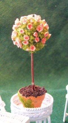 how to: rose topiary