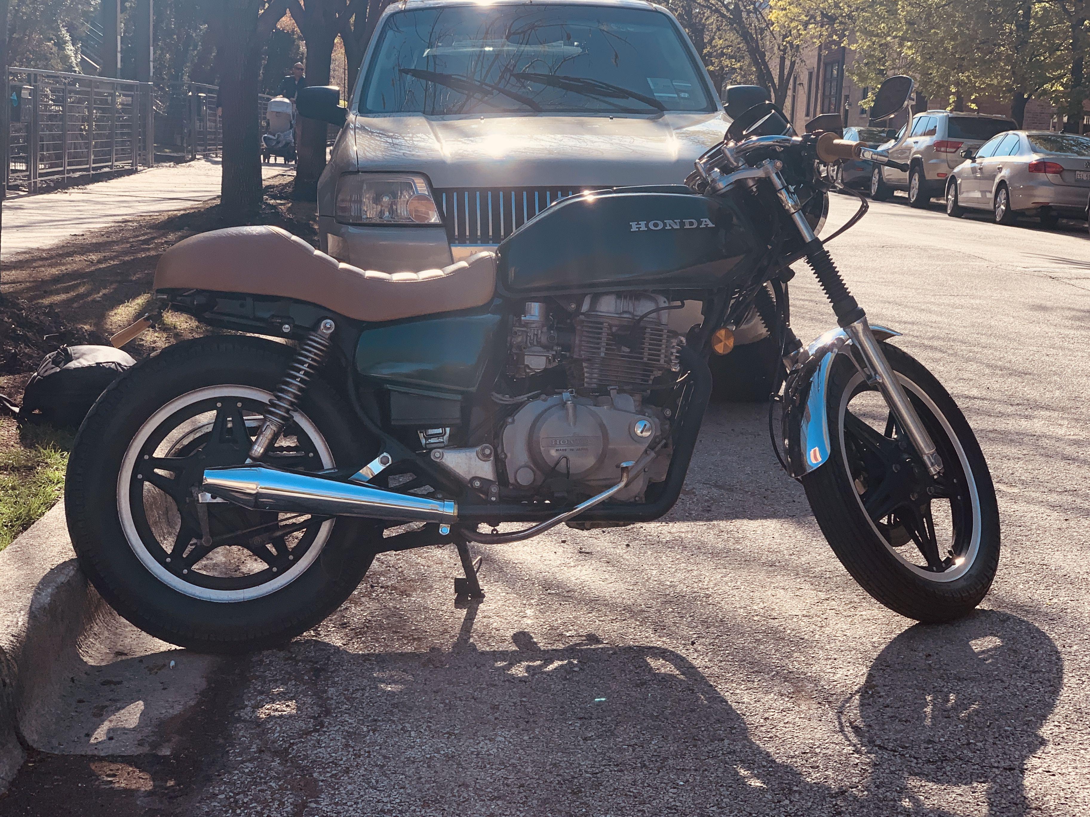 1980 Honda Cm400t Honda Bike Moped [ 2736 x 3650 Pixel ]