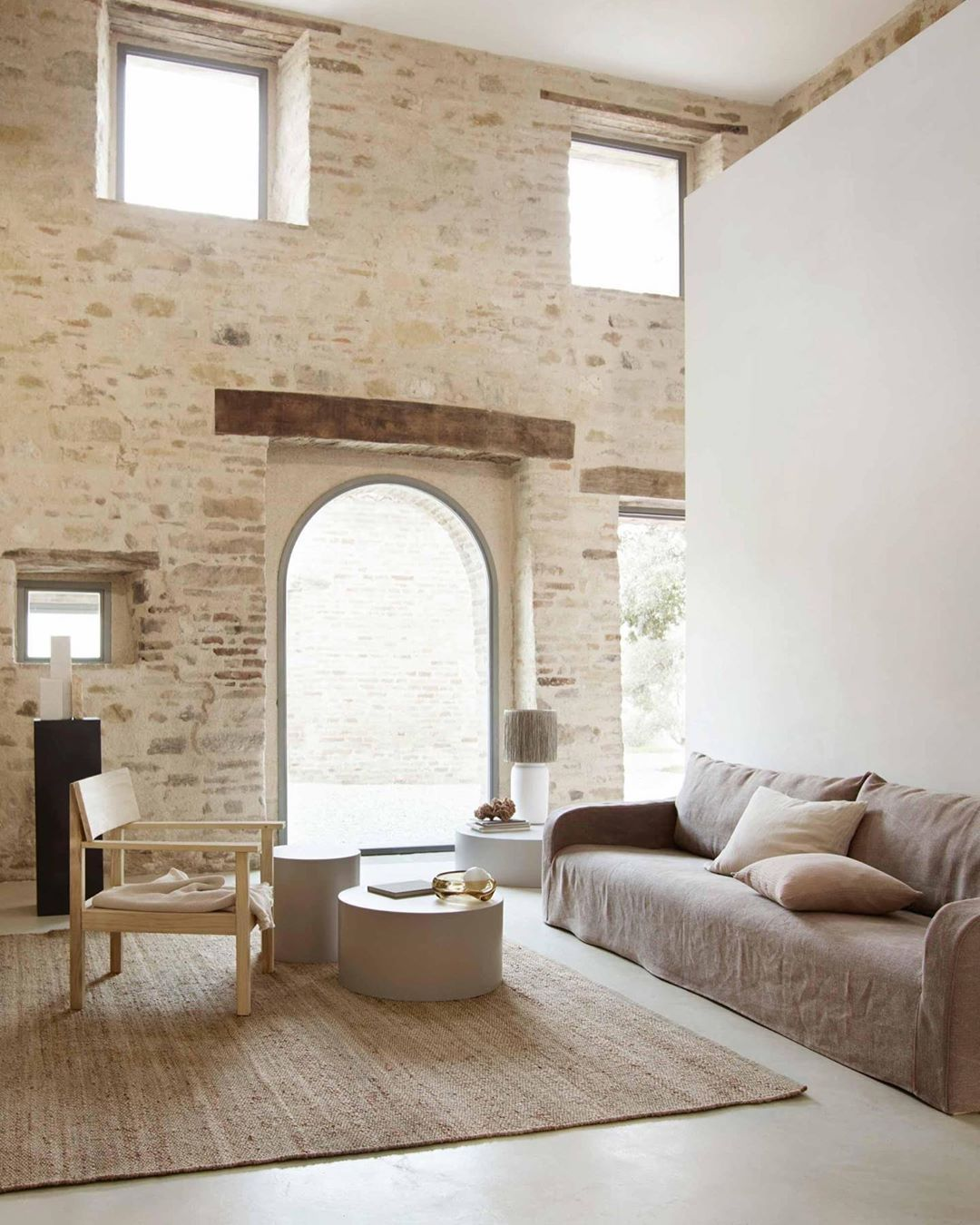 Design Live On Instagram Casa Olivi For Tine K Home Designed By Markus Wespi And Jerome De Meuron In Le Marche Tinekhomestore Rustic House Home House Design