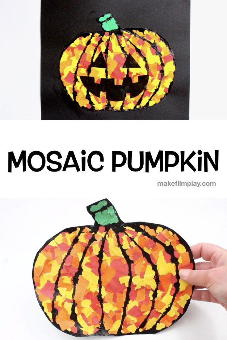 Mosaic Pumpkin Picture