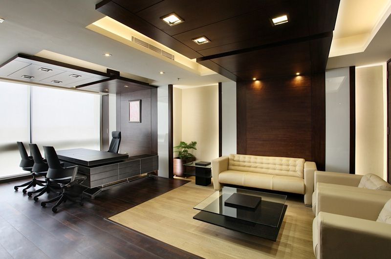 Office Image Interiors General Manager Interior Design Rendering With French