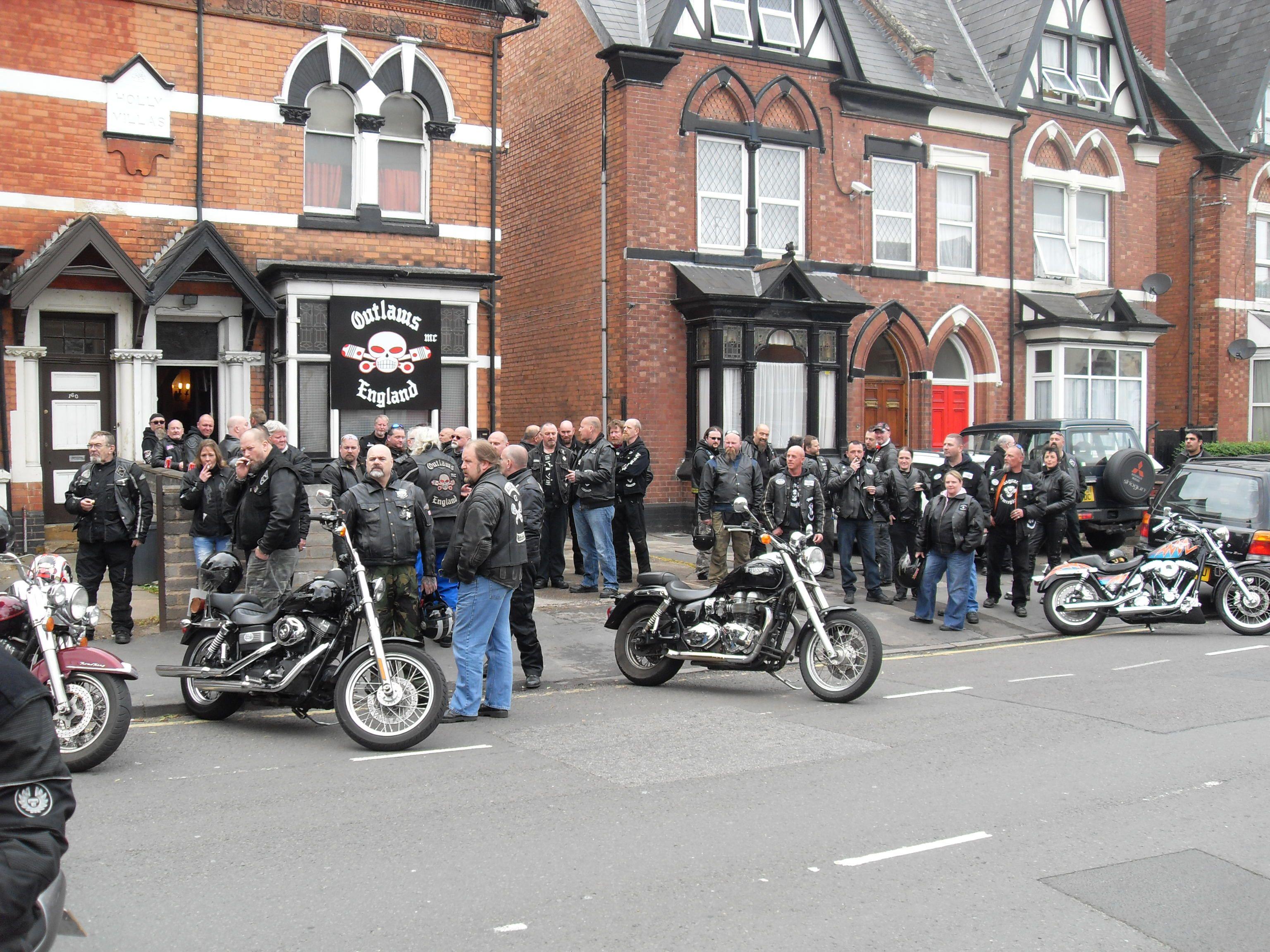 Birmingham Club house | Outlaws MC  | Biker party, Biker