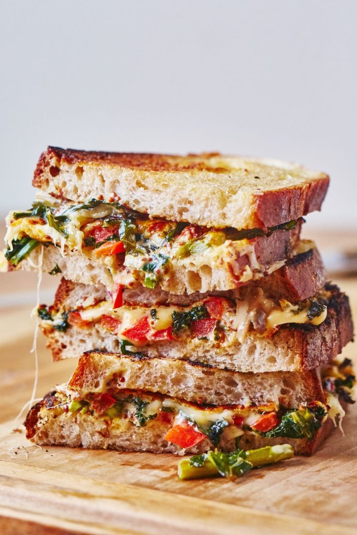 Recipe: Cheesy Vegetable Melts