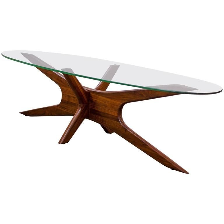 Adrian Pearsall Jacks Coffee Table 1960s 1stdibs Com Flat