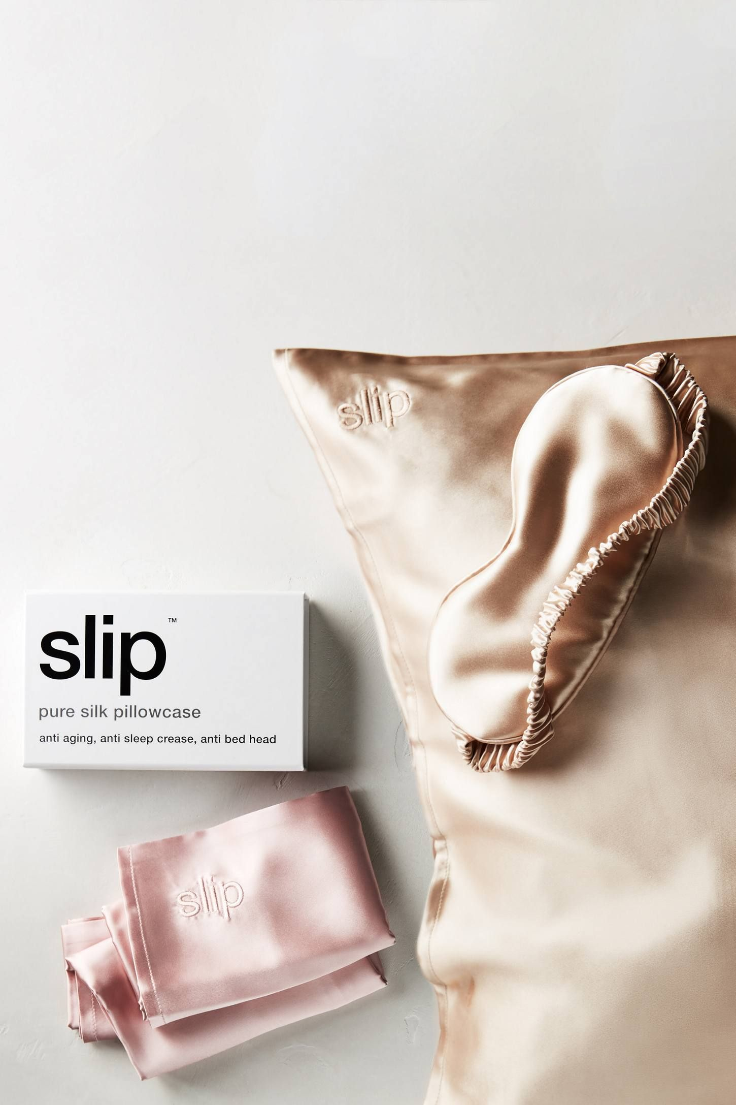 Slip Pillowcase Review Inspiration Slip Silk Sleep Mask  Anthropologie Masking And Silk Decorating Inspiration