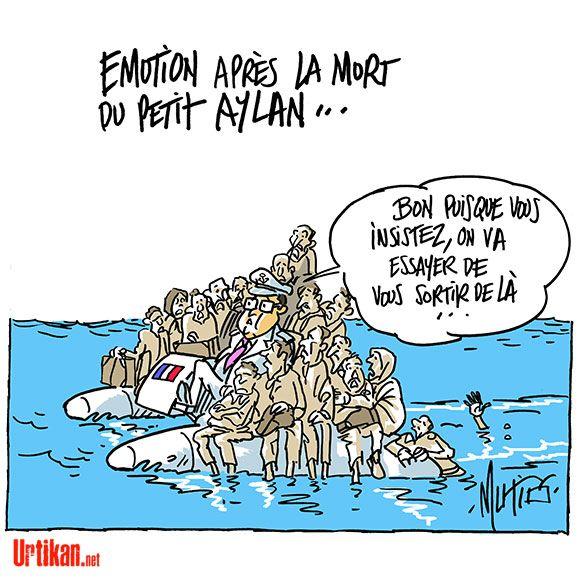 Fabuleux Crise des réfugiés: la photo du petit Aylan contraint l'UE à  HS22