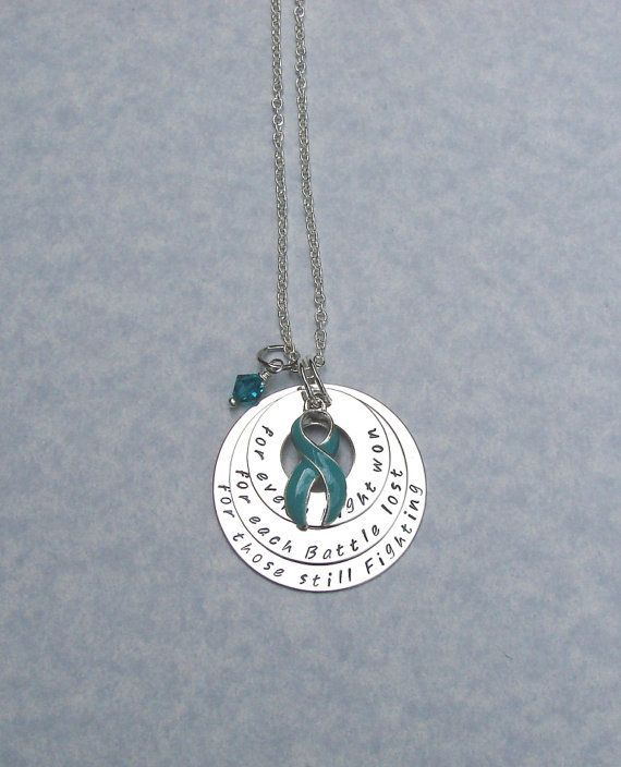 60d70fb08 Ovarian Cancer Awareness Support Necklace | Jewelry by Roxy's ...