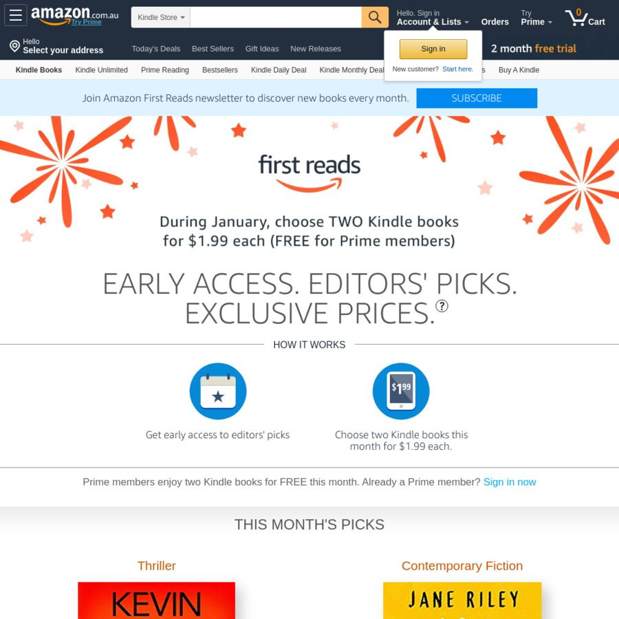 Amazon Prime 2 Free Ebooks 8 To Choose From In 2020 With