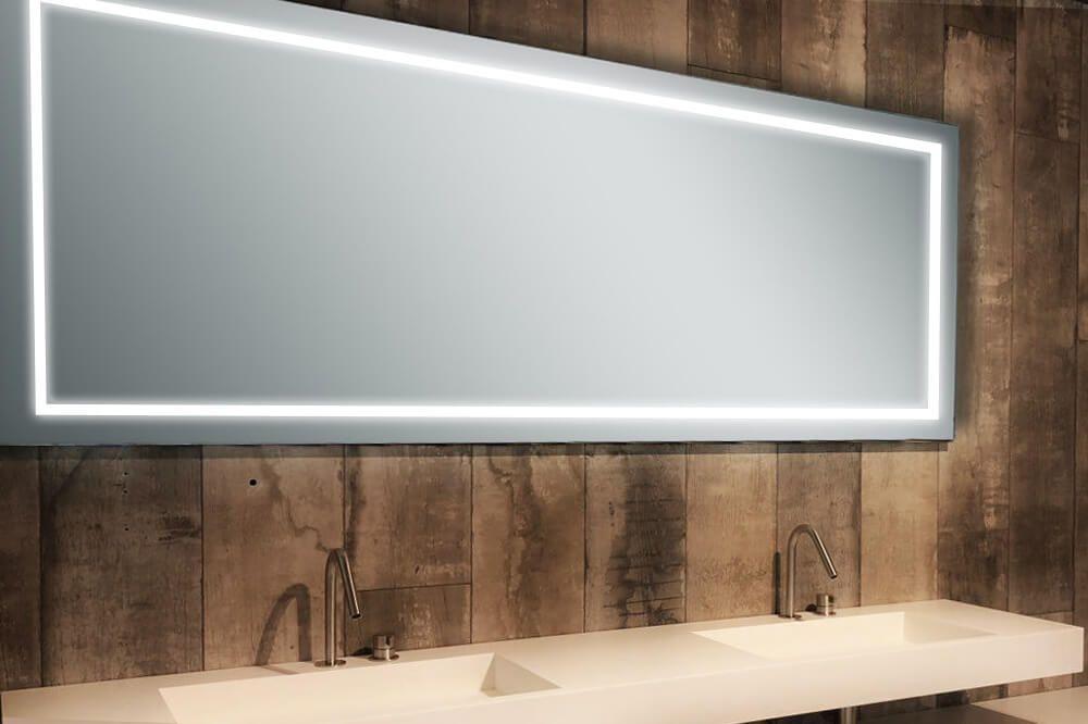 Spiegel LED Veendam - Design Spiegels   Badkamer Spiegels   Pinterest