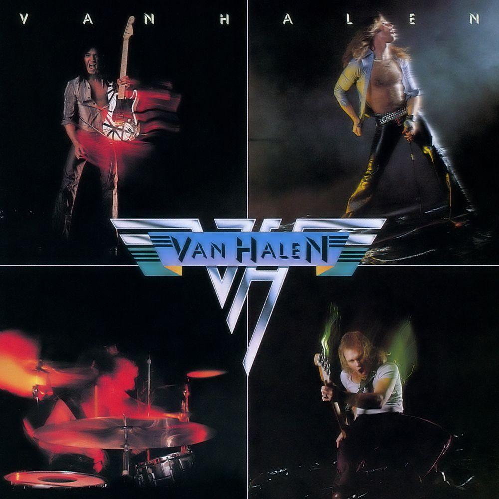 Van Halen 1978 Van Halen The 1st Vinyl Album I Wore Out On My Turntable Classic Rock Albums Rock Album Covers Van Halen Album Covers