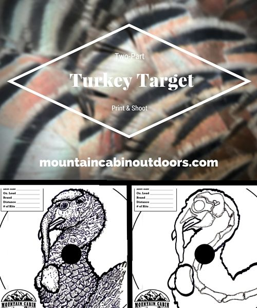 photo regarding Printable Turkey Head Target known as Picking out A Turkey Gun: Critical Turkey Wanting Products