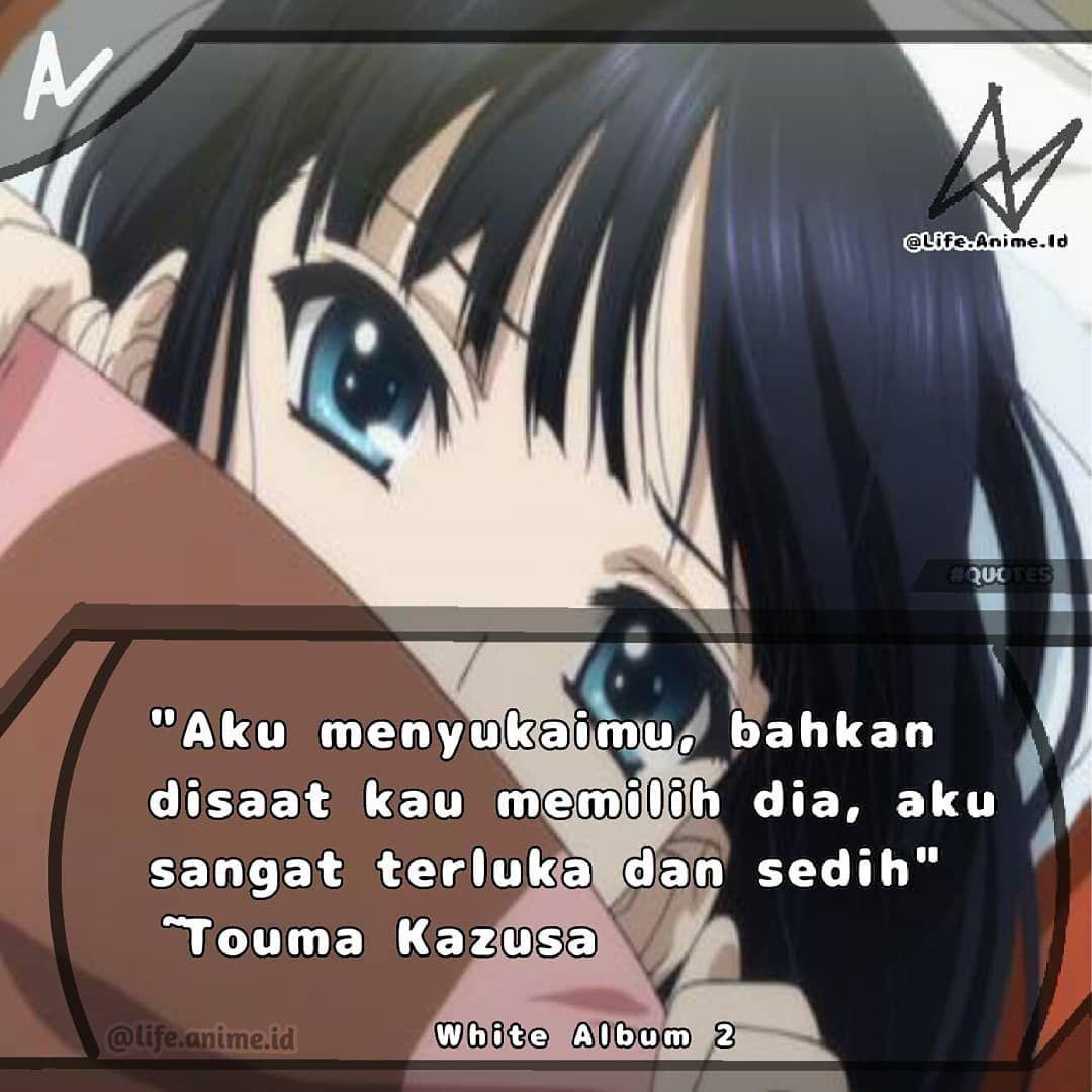 Anime Life Touma Kazusa Namanya Cinta Pasti Ada Rasa Sakit Dan